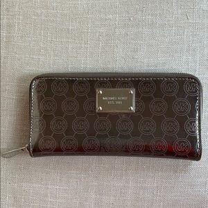 Michael Kors Monogrammed Wallet